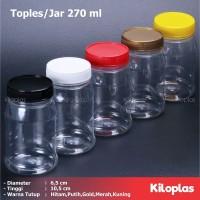 Toples Plastik 270 ml / Toples Sambal dan BUmbu