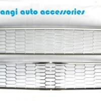 LIVINA Cover Grill Radiator Grill Bumper Chrome NISSAN GRAND LIVINA