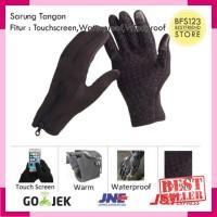 Sarung Tangan Motor Sepeda Touch Screen Waterproof Windproof