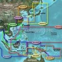 Peta Laut Bluechart Pacific untuk GPS Garmin Micro SD Card