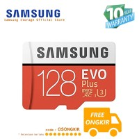 Samsung Evo PLUS 128GB MicroSDHC UHS-I Class 10 + SD Adapter