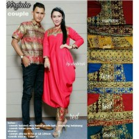 Couple Sarimbit Modern Kebaya Pasangan Couple Batik Virginia