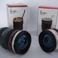 Gelas Mug Replika Lensa Kamera Canon EF 24105mm tutup Fish Eye ru