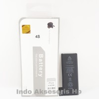 Baterai Apple iPhone 4 4S 4 S Kualitas Original 100% Battery Batre Hp