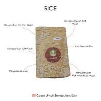 Jual Masker bubuk organik Rice 50 gram masker wajah Beras Berkualitas