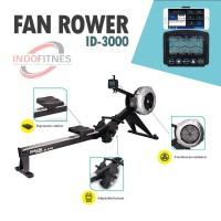Fan Rower ID-3000 - Rowing Machine - Water Row