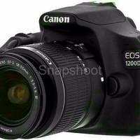 kamera Canon EOS 1200D 18 55 Camera Canon eos 1200 d kit INFOH WA :