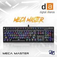 5f7fa78fd1b Keyboard Gaming Digital Alliance Meca Master RGB Mechanical - Blue