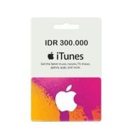 iTunes Gift Card (IGC) Apple Store Indonesia 300ribu