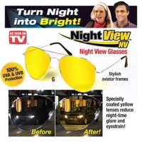 Night View Glasses Vision Kacamata Anti Silau Pusing di Malam Hari