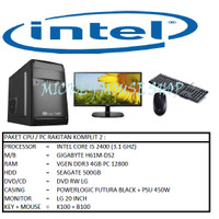 PAKET CPU / PC RAKITAN KOMPLIT 2 / INTEL I5 2400 (3.1 GHZ) / RAM 4GB