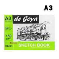 De Goya Sketchbook A3 (29.7CM X 42CM) - Sketch Book Basic DeGoya