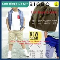 Celana Anak Biggie Begi Kargo Pendek Laki LOBO Nyaman Adem Original #