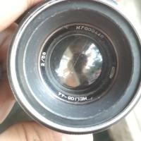 Lensa Anamorphic Helios 44-2 58mm f/2 (free) mount M42 to Sony