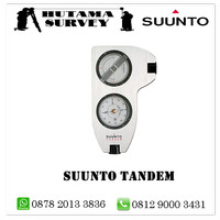 SUUNTO CLINOMETER TANDEM 360PC/360R ( Kompas + Clinometer )
