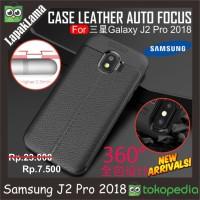 Leather Auto Focus Original Case Samsung Galaxy J2 Pro Grand Prime Pro