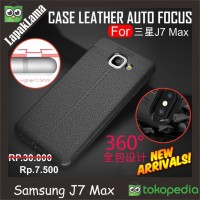 Case Leather Auto Focus Original Samsung Galaxy J7 Max 2017 Softcase