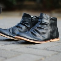 Sepatu boots pria original