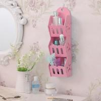 [HB529 PINK]Colorful Storage Decorative Rack Shabby chic rak hp remote