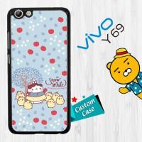 Molang Snow White E1512 Casing HP Vivo Y69 Custom Case Cover