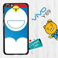 Doraemon Minimal Series E1490 Casing HP Vivo Y69 Custom Case Cover