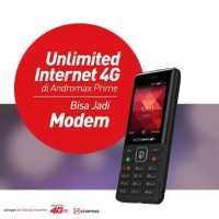 Andromax Prime 4G Hape Modem4G Smartfren Free Internet unlimitted 1bln