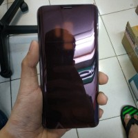 Clear View Standing Cover Samsung Galaxy S9 Plus Original Bekas Second