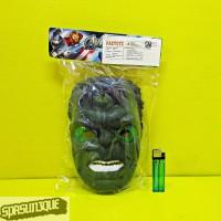 Topeng Hulk Ada Lampu (SNI)