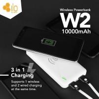 Ilo Power Bank W2 10000 mAh Wireless - White