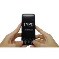 Typo 2 Keyboard Case QWERTY for iPhone 5/5s/SE - Black