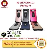 Paling Murah Case Samsung S8 Motomo Atom Metal Hardcase Silicone Hp