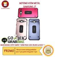Paling Murah Case Samsung J7 Motomo Atom Metal Hardcase Silicone Hp