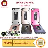 Paling Murah Case Vivo V5 Plus Motomo Atom Metal Hardcase Silicone Hp