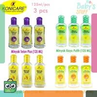 ( Isi 3 Pcs ) Konicare Minyak Telon / Telon Plus / Kayu Putih / Kayu