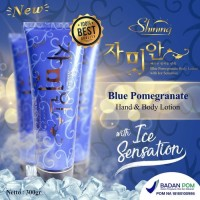 New ( Shining ) Bluepome/blue pome - Blue pomegranate Body lotion with