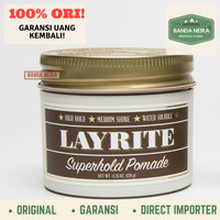 Layrite Superhold Original Impor Murah Pomade