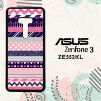 Casing Asus Zenfone 3 ZE552KL Custom HP Triblas Pink Wallpaper L0283