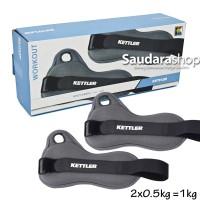 Kettler Wrist band orange (1kg/pair) / Pemberat tangan 1kg kettler