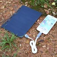 5V Solar Power Bank A5 Charger USB Pengisian Cahaya Matahari