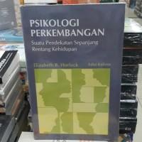 Buku psikologi perkembangan karangan Elizabeth.B.Hurlock