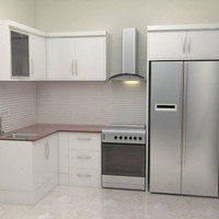 Kitchen Set Minimalis - Sederhana