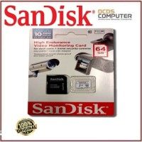 SANDISK MICRO SD 64GB HIGH ENDURANCE VIDEO MONITORING SDSDQQ-64GB