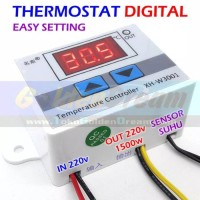 W3001 Thermostat Digital Temperature Termostat Suhu Panas Dingin