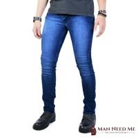 Celana Jeans Pria SLIM FIT DENIM STRETCH - Navy Misty