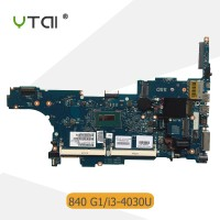 SR1EN I3-4030 HP Elitebook 840 G1 laptop motherboard SR1EN I3-4030U pr