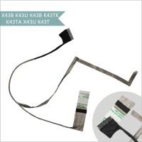 LCD LVDS cable ASUS X43B K43U K43B K43TK K43TA X43U K43T laptop screen