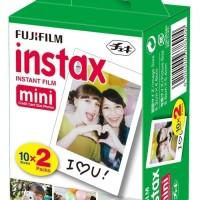 Fujifilm Mini 8 Kuning Kamera Polaroid + Refill Instax Polaroid