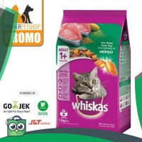 Whiskas 1,2kg Adult ( Tuna / Mackerel / Grilled Saba / Ocean Fish /