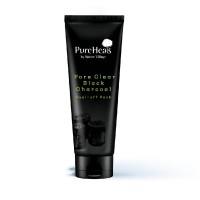 PureHeals Pore Clear Black Charcoal Peel-off Pack 100g