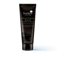 PureHeals Pore Clear Black Charcoal Cleansing Foam 150ml